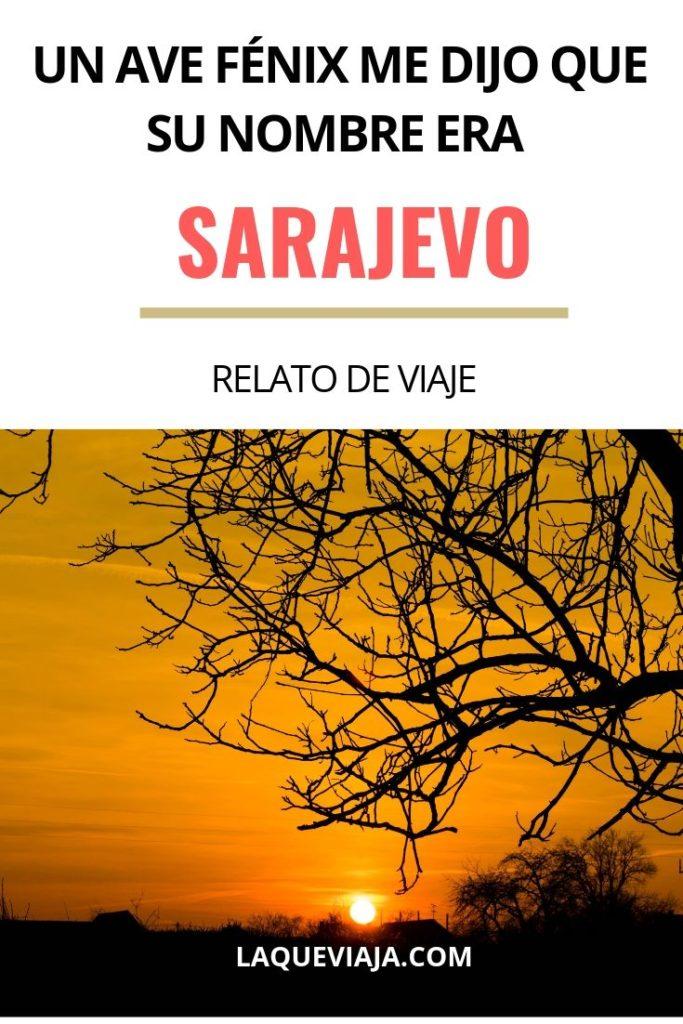 un ave feniz me dijo que su nombre era Sarajevo