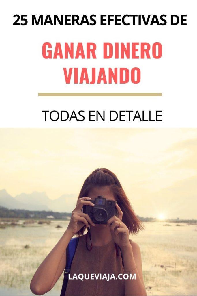 MANERAS DE GANAR DINERO VIAJANDO