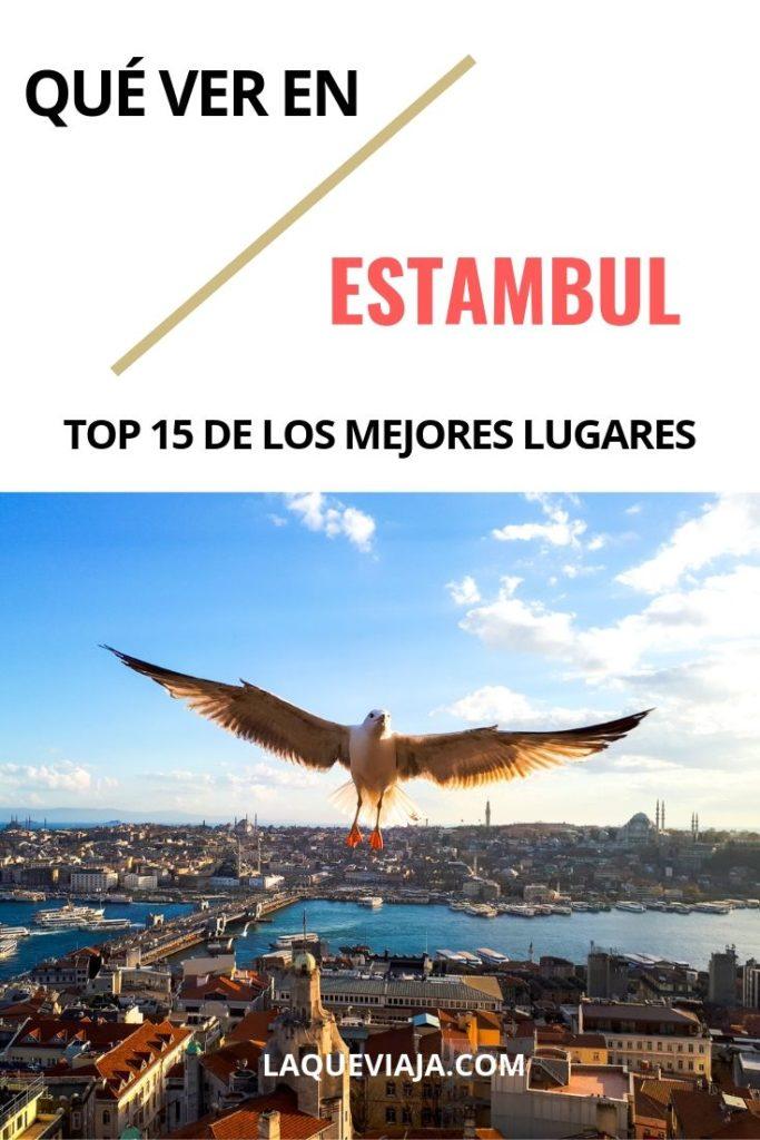 QUE VER EN ESTAMBUL - LOS MEJORES LUGARES DE ESTAMBUL