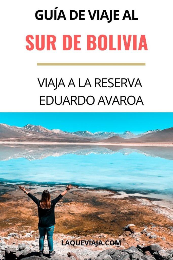 GUIA DE VIAJE AL SUR DE BOLIVIA - EDUARDO AVAROA