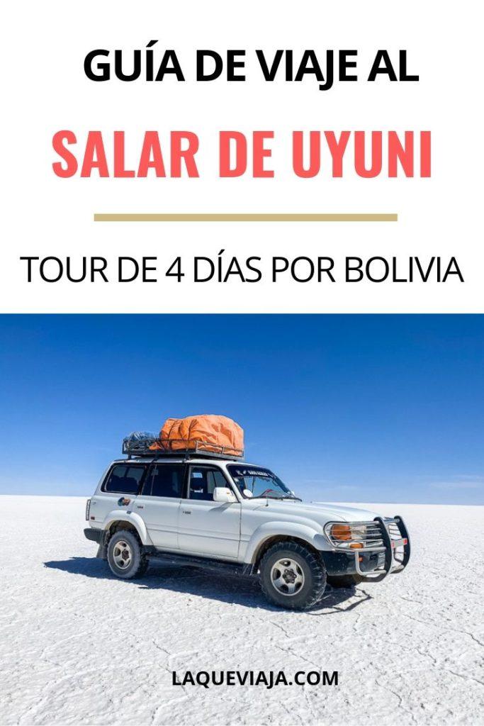 GUIA DE VIAJE AL SALAR DE UYUNI, BOLIVIA