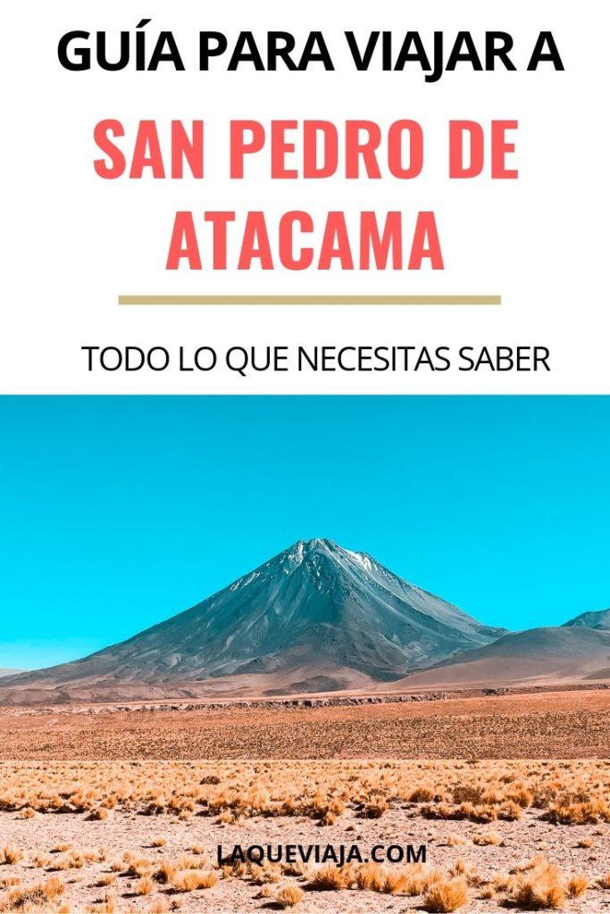 GUIA PARA VIAJAR A San Pedro DE ATACAMA - CHILE