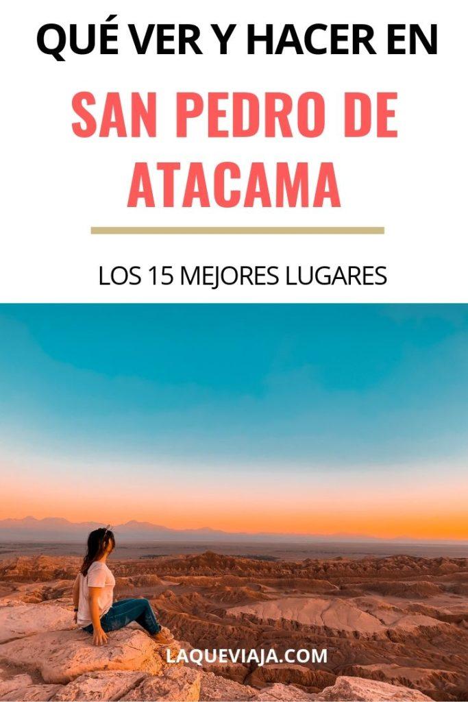 QUE VER Y HACER EN San Pedro DE ATACAMA