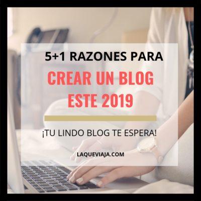 5+1 Razones para crear un blog este año