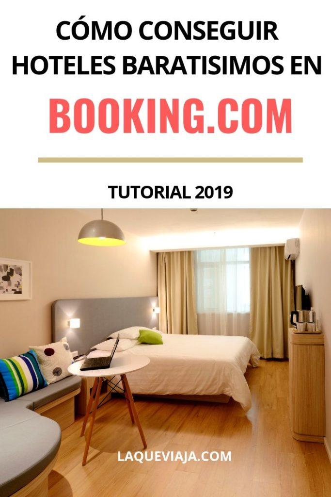 como conseguir hoteles baratos en booking.com