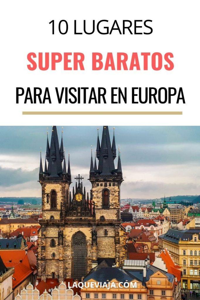 LUGARES BARATOS PARA VISITAR EN EUROPA