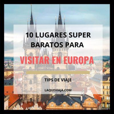 10 lugares super baratos para visitar en Europa