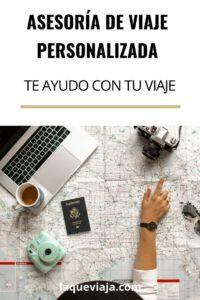 asesoria de viaje personalizada