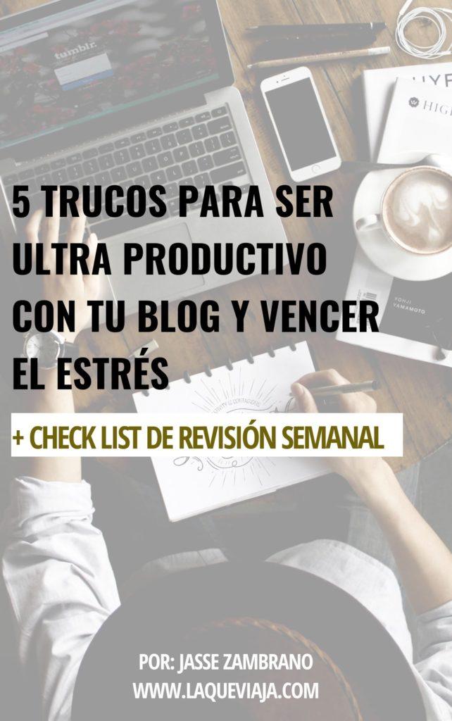 trucos para ser mas productivo con tu blog