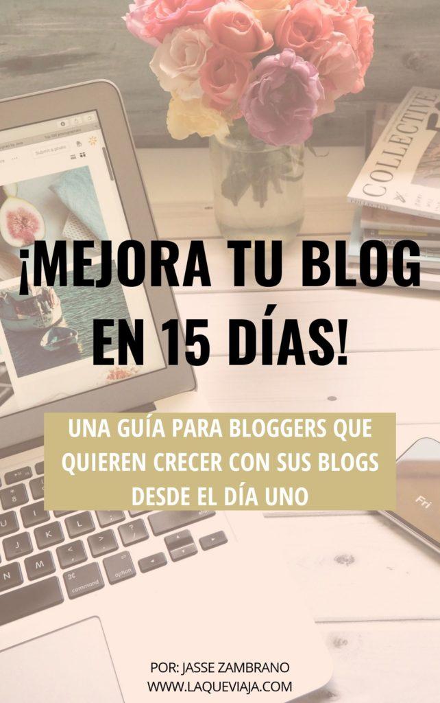Mejora tu blog en 15 días. Ebook