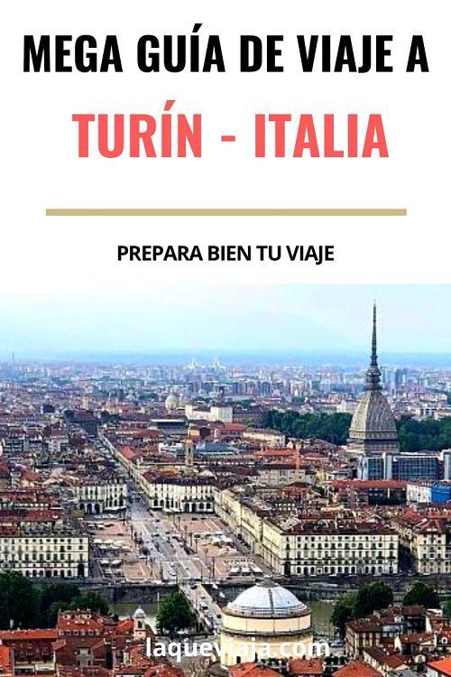 guia de viaje a Turín