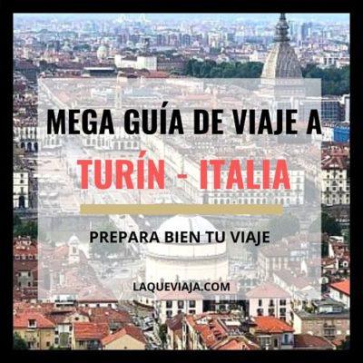 Mega guía de viaje a Turín